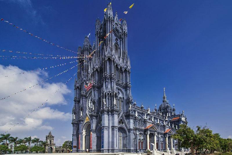 Công trình nhà thờ Thái Bình