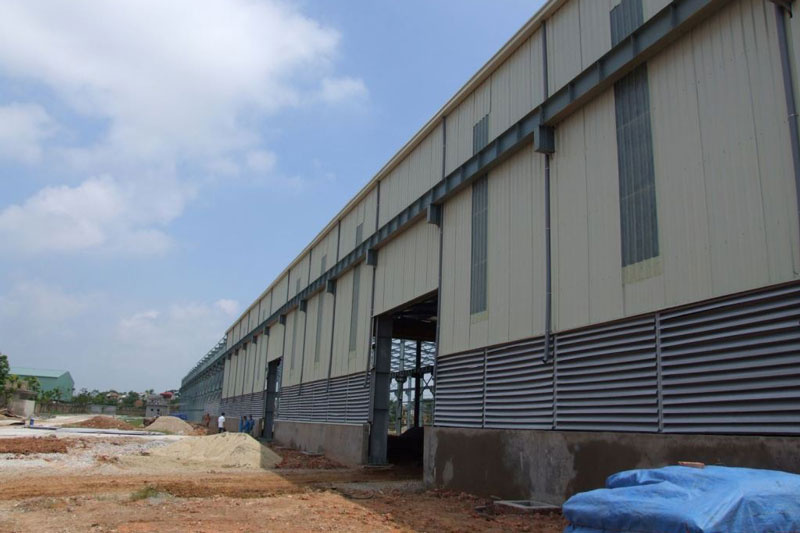 Nhà máy cán thép Phương Trung
